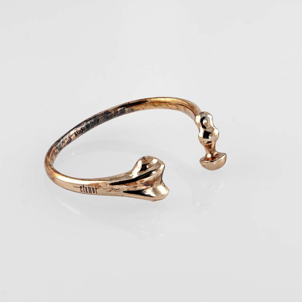 OSSO http://www.clamorglamour.com/ #bracelet #bracciale #braccialetto #regalo #gift #jewelry #jewel #bracelets #fashion #idearegalo #madeinitaly