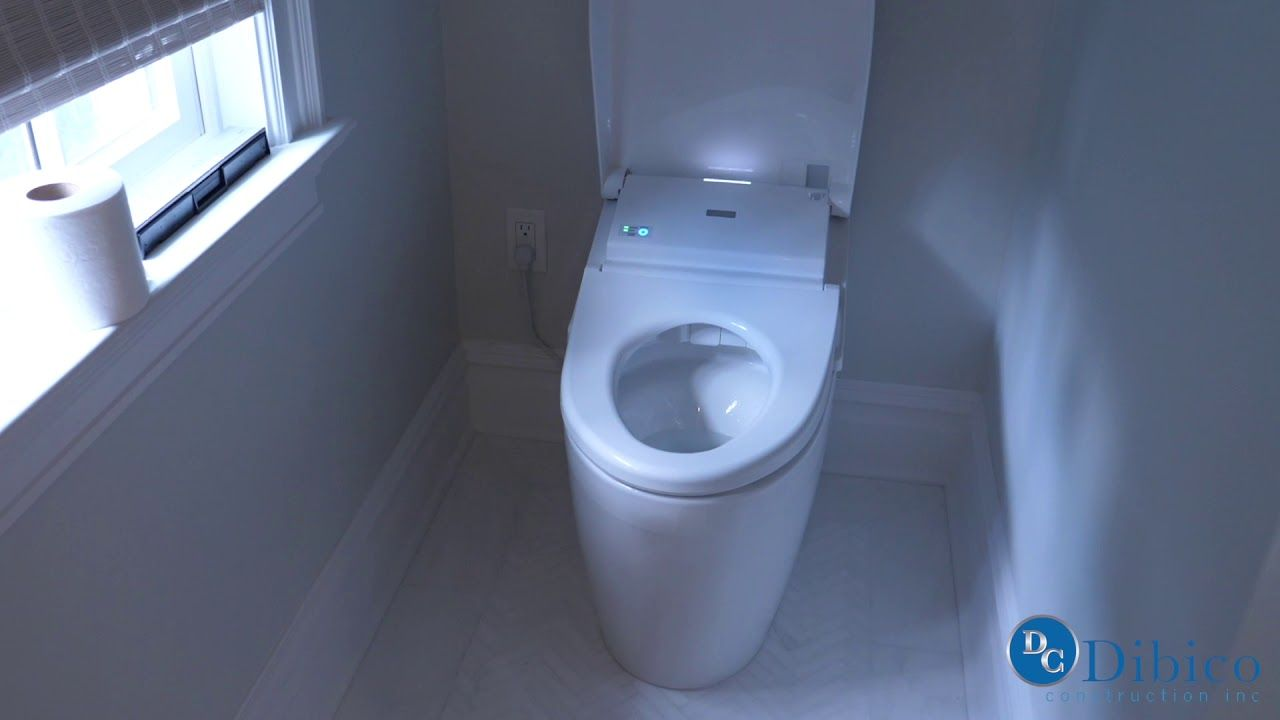 This Selfraising And Selfcleaning Toilet Is The Way Forward - Self cleaning bathroom