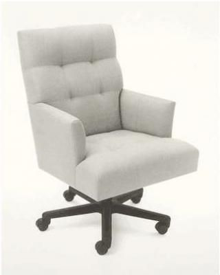 Donghia Classic Modern Design Office Chair With Fabric Upholstery