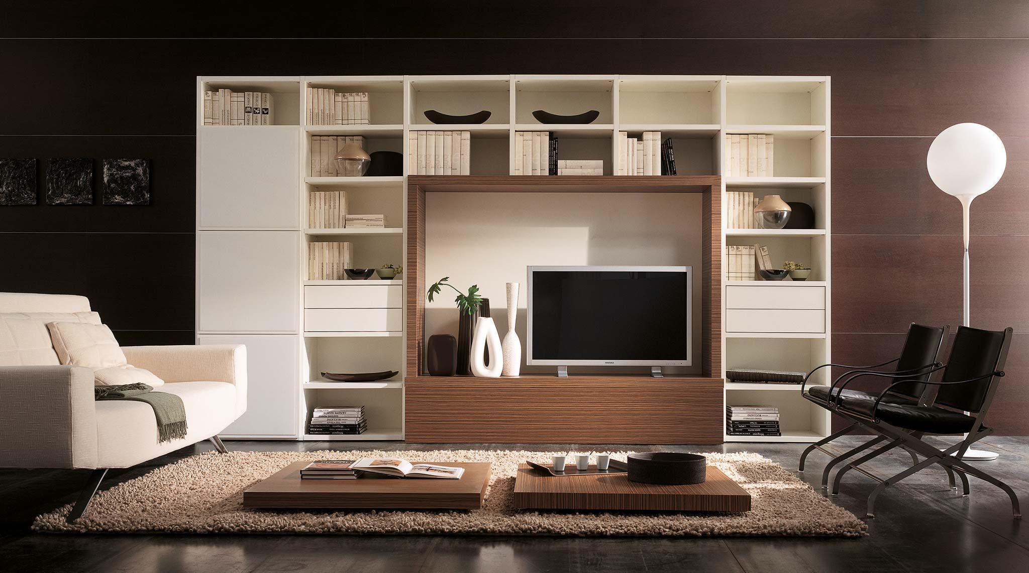 Libreria componibile laccata artik arredamento for Vendita mobili design on line