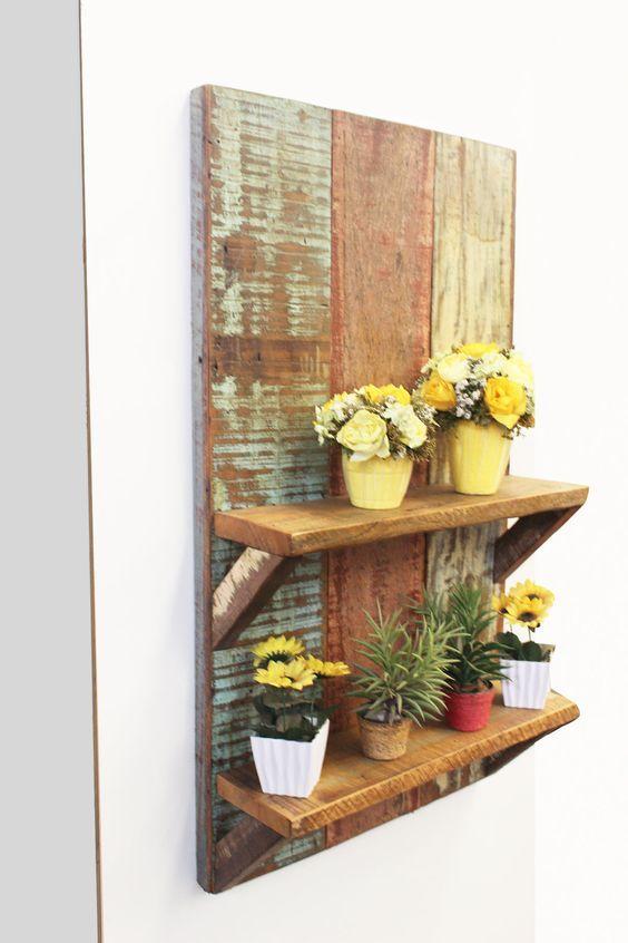Repisas para jardin repisas metalicas repisas para for Estantes para plantas exteriores