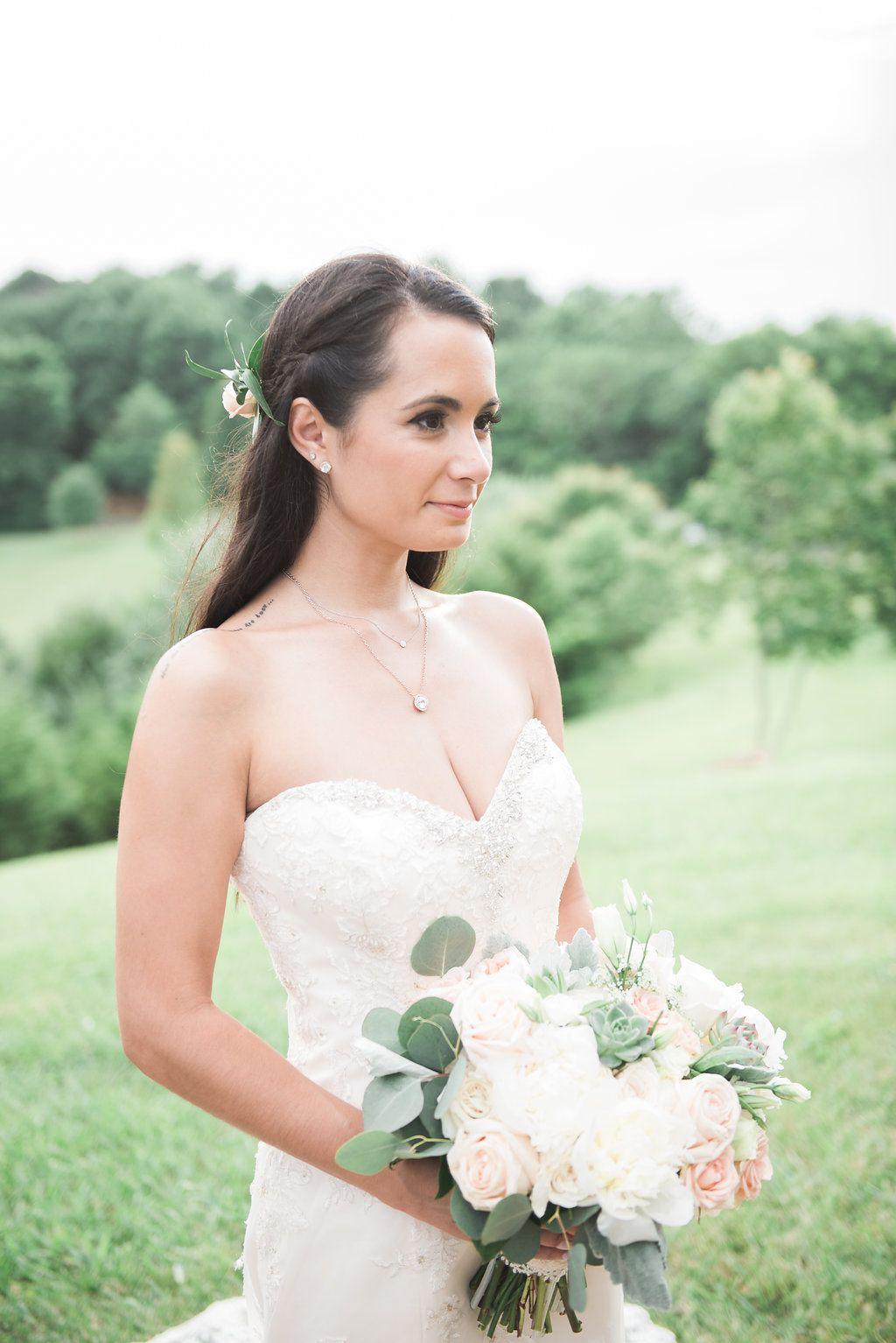 jessica + bill's romantic outdoor farm wedding | beautiful