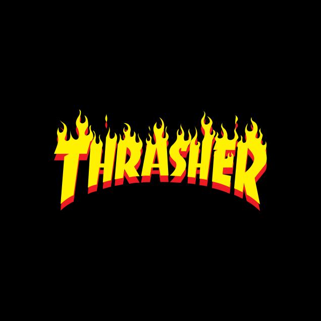 Thrasher Wallpaper Thrasher logo 2019 skateboard
