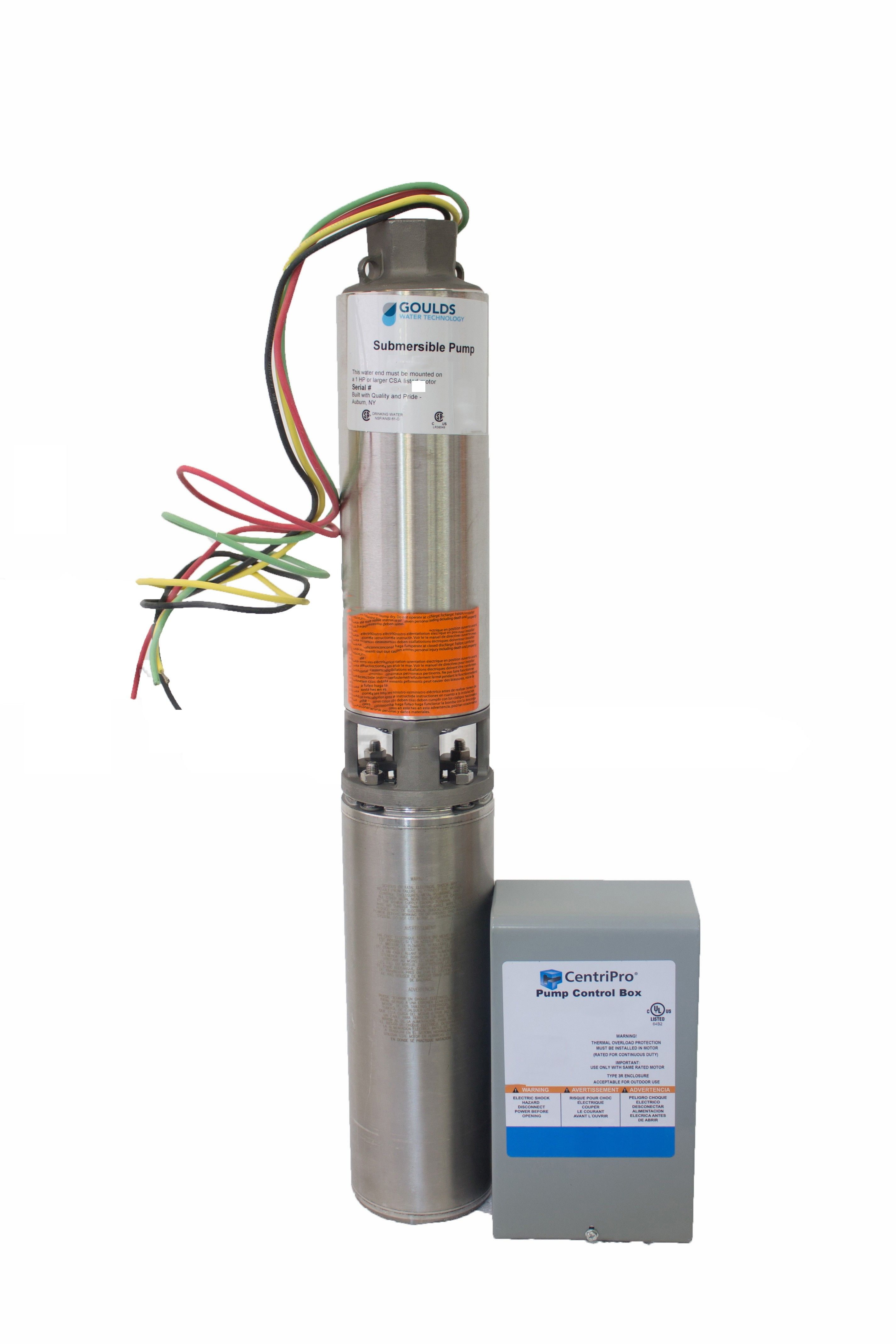Submersible Pump Control Box Wiring In 2020 Submersible Pump Submersible Well Pump Submersible