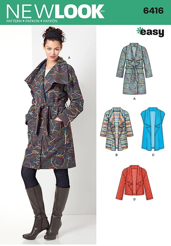 simplicity creative group missesu coat jacket or vest winter