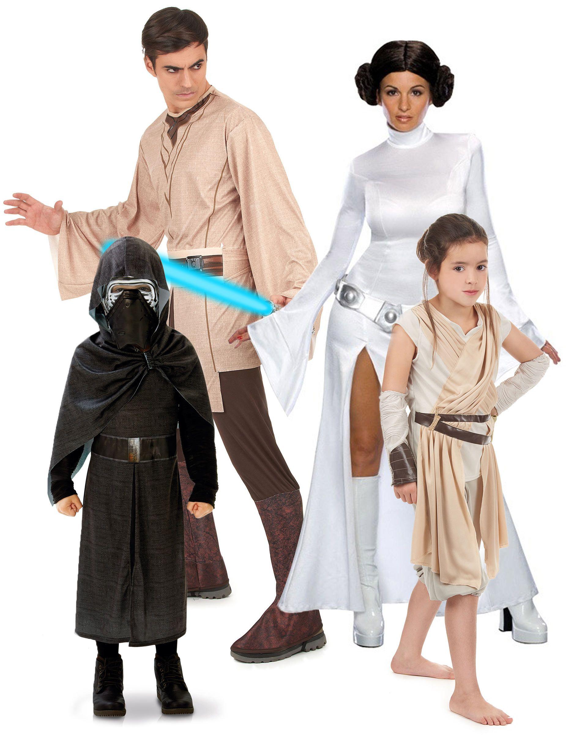 Costume da Famiglia Star Wars™  Un set di travestimenti per famiglia  composto da 4 2f3d81278b68