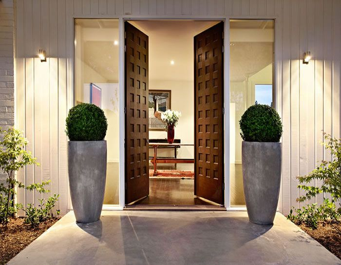 Door Entrances 20 homes with stunning front door designs | solid doors, glass