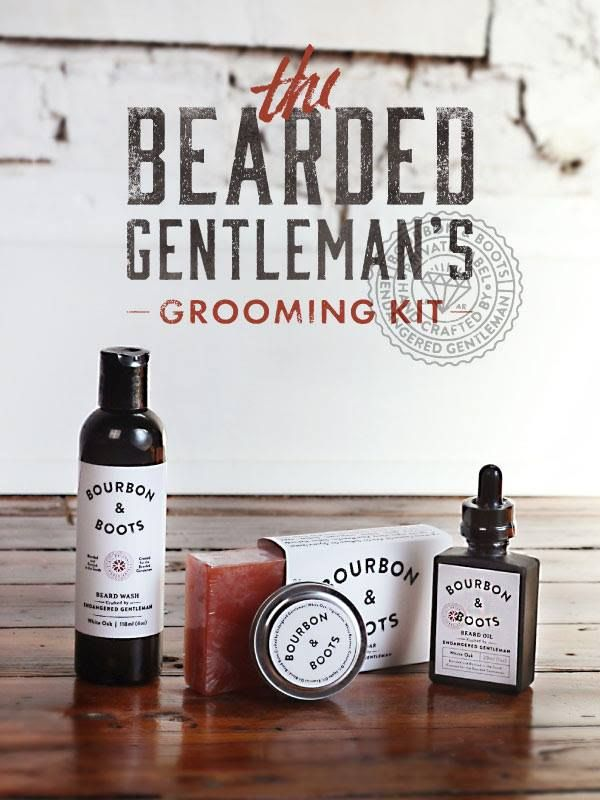 The Bearded Gentleman Grooming Kit Features A Specially