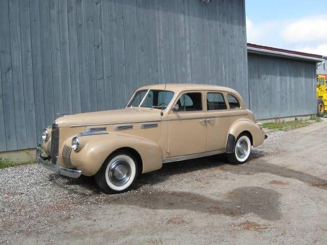 1940 LaSalle 50 4-Dr Touring