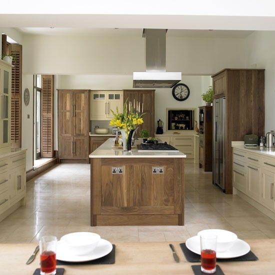 Cream Kitchen Ideas That Will Stand: Kitchen Design, Walnut Kitchen