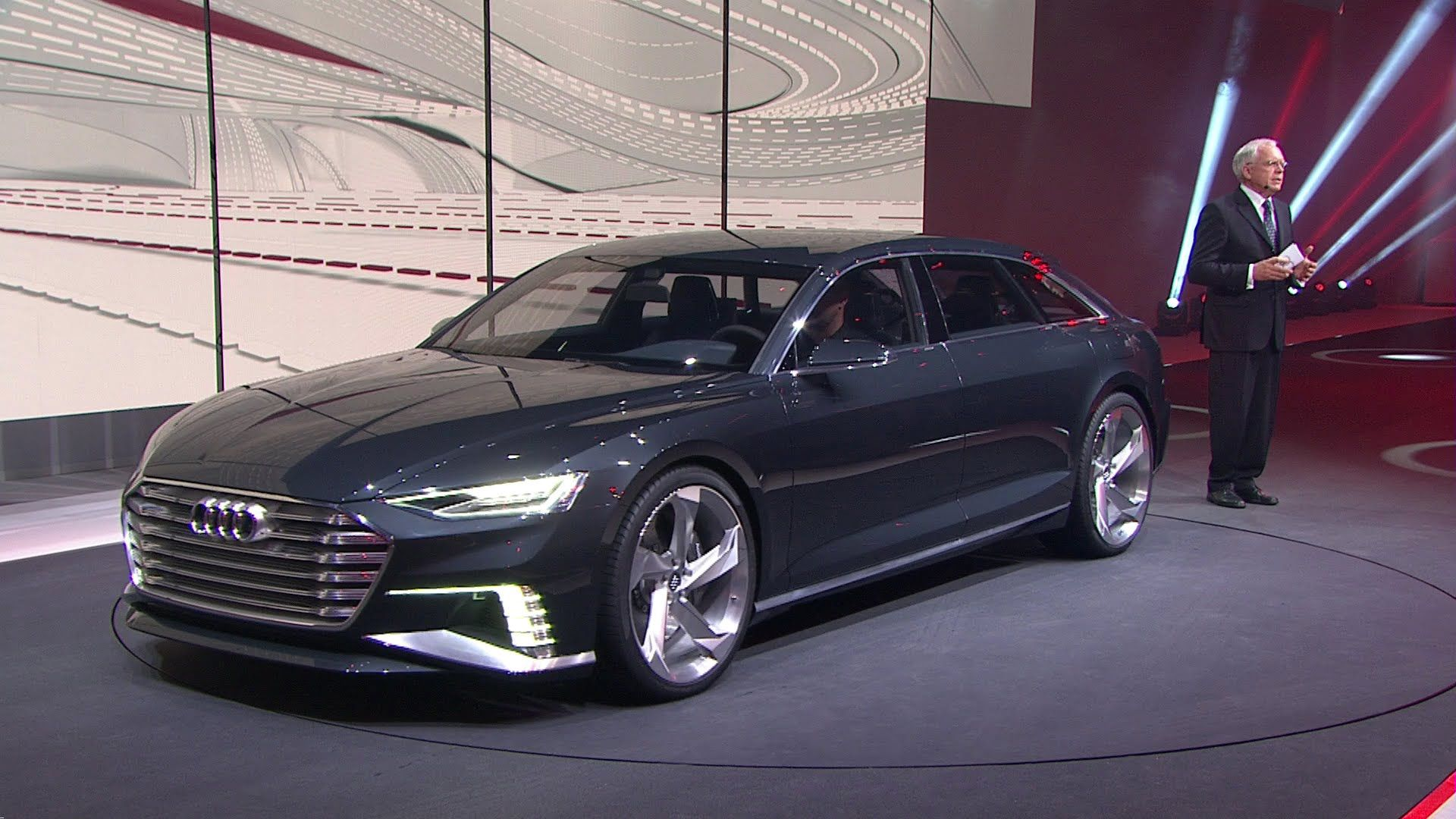 Audi A9 Prologue Avant Sitzprobe Audi A9 In Genf 2015 Videos