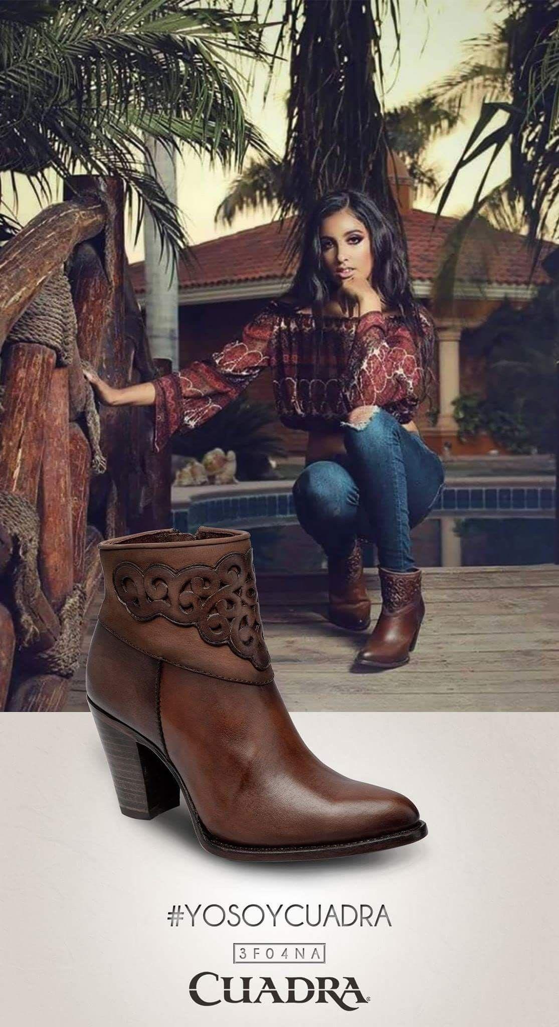 Botas de moda 2018 » Botas rodeo de mujer 3