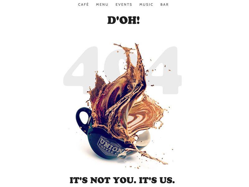 404 | Union Coffee Co.