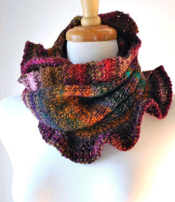 Knitting Pattern PDF pullover moebius cowl \