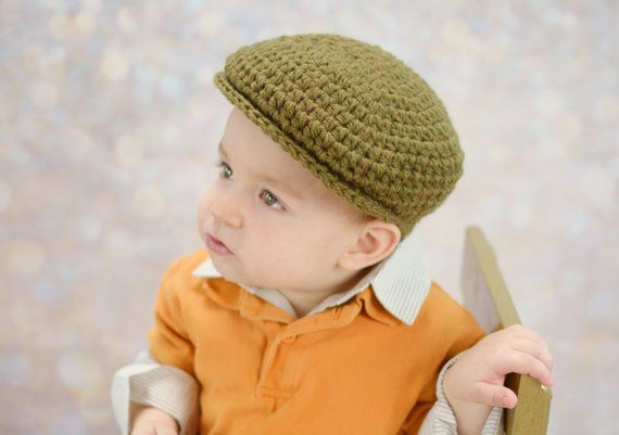 ef76a8b96 9 Sizes Olive Green Hat Baby Hat Toddler Hat Baby Boy Hat Toddler ...
