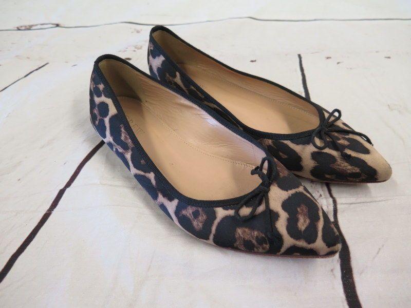78581253c22a J.Crew Gemma Leopard Flats Dusty Cedar Size 6 Pointed Toe Style E0227 #JCrew  #BalletFlats #Casual