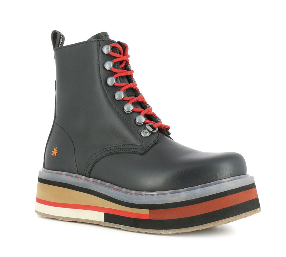 Ankle Boots Man Woman Black 0080 Heritage Black Bangkok De Man