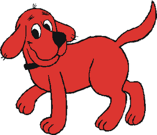 Clifford The Big Red Dog From Heroism Wiki Red Dog Children S Book Characters Dog Poster