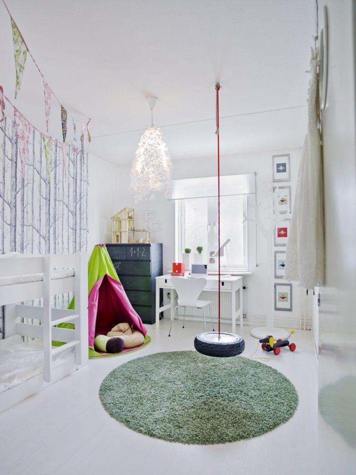 Jasny pokój dziecięcy w stylu skandynawskim | Dziecięce ...