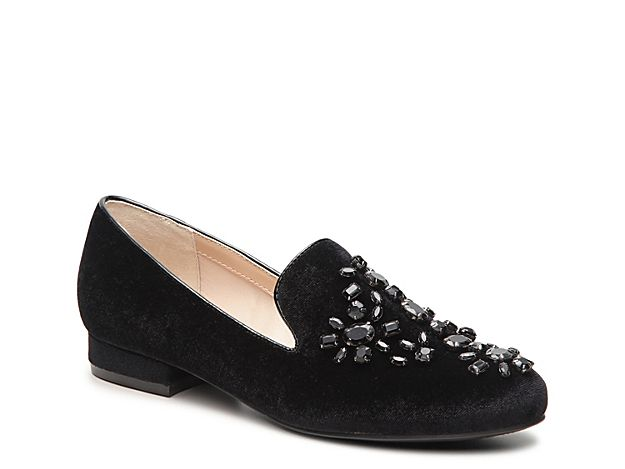9aad17e63f6 Women Libli Velvet Loafer -Black Shoe Game