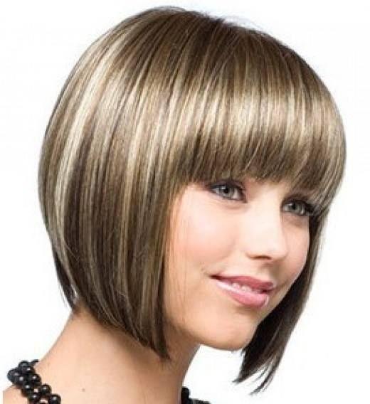 Love This Colour Chin Length Hair Bob Hairstyles Short Hair Lengths