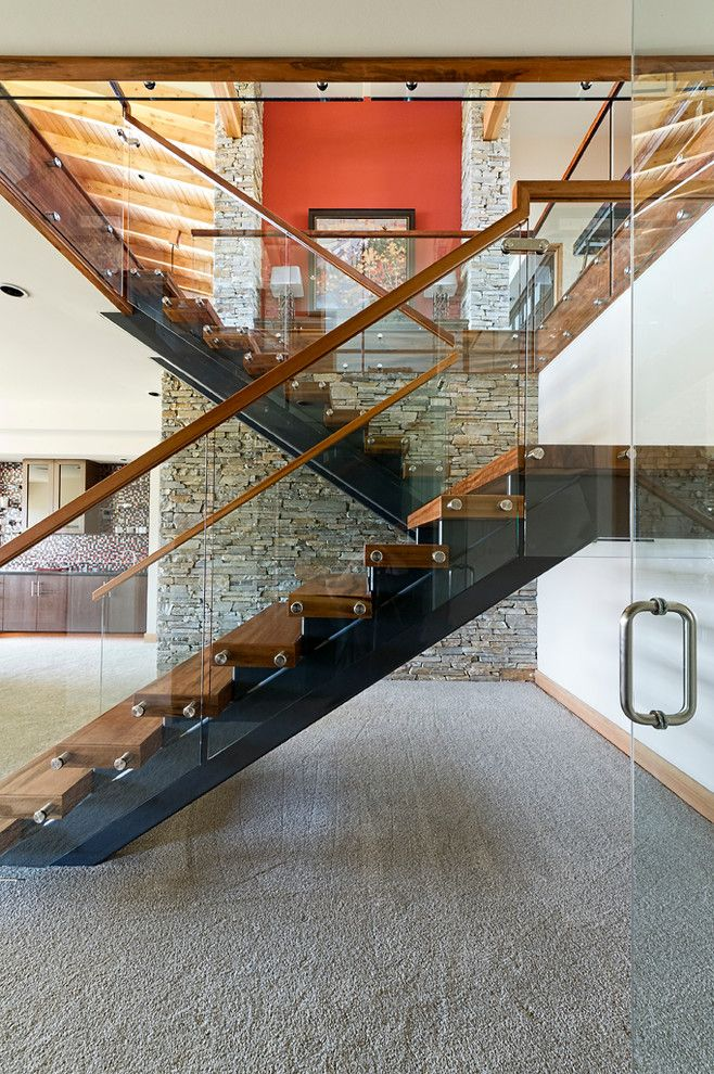 Best Rustic Staircase With Glass Google Search Staircase 640 x 480