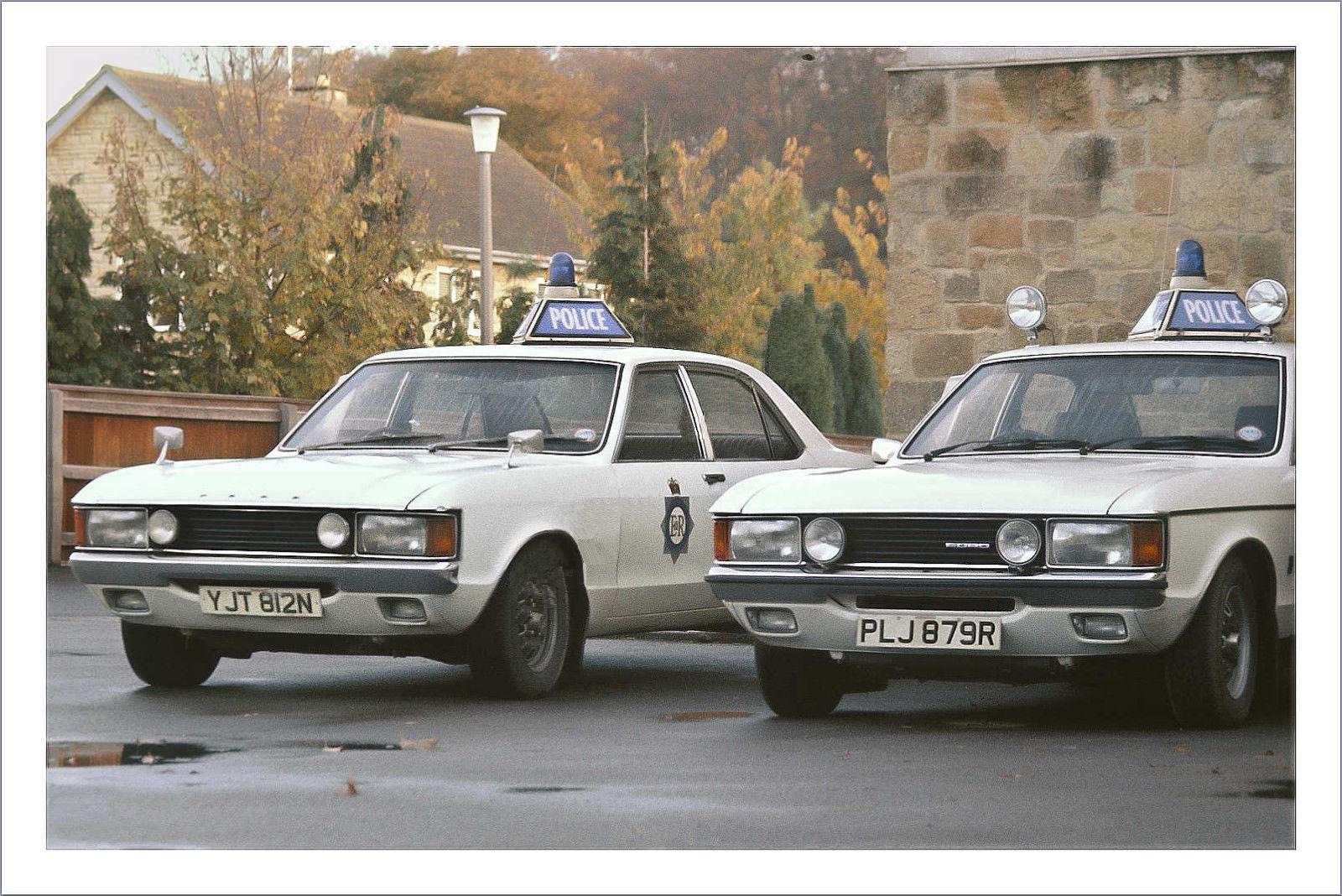 British 1974 1976 Ford Granada Consul Gt Police Cars