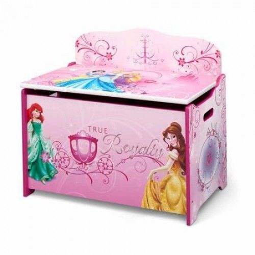 Disney Toy Box Princess Storage Chest Organize Bin Girl Kid Room Trunk Unit Cube Kids Toy Boxes Children Room Girl Toy Boxes