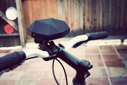 Awesome Wireless Speaker that you can clip onto a bike!!