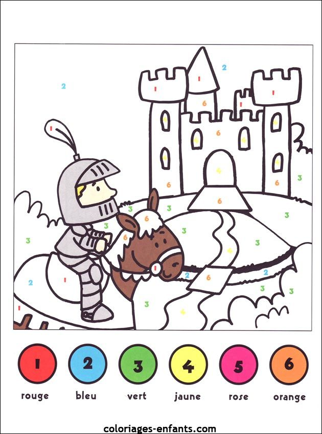 Jeux de chevaliers sur coloriages enfants knight chevalier pinterest - Coloriage tout petit ...