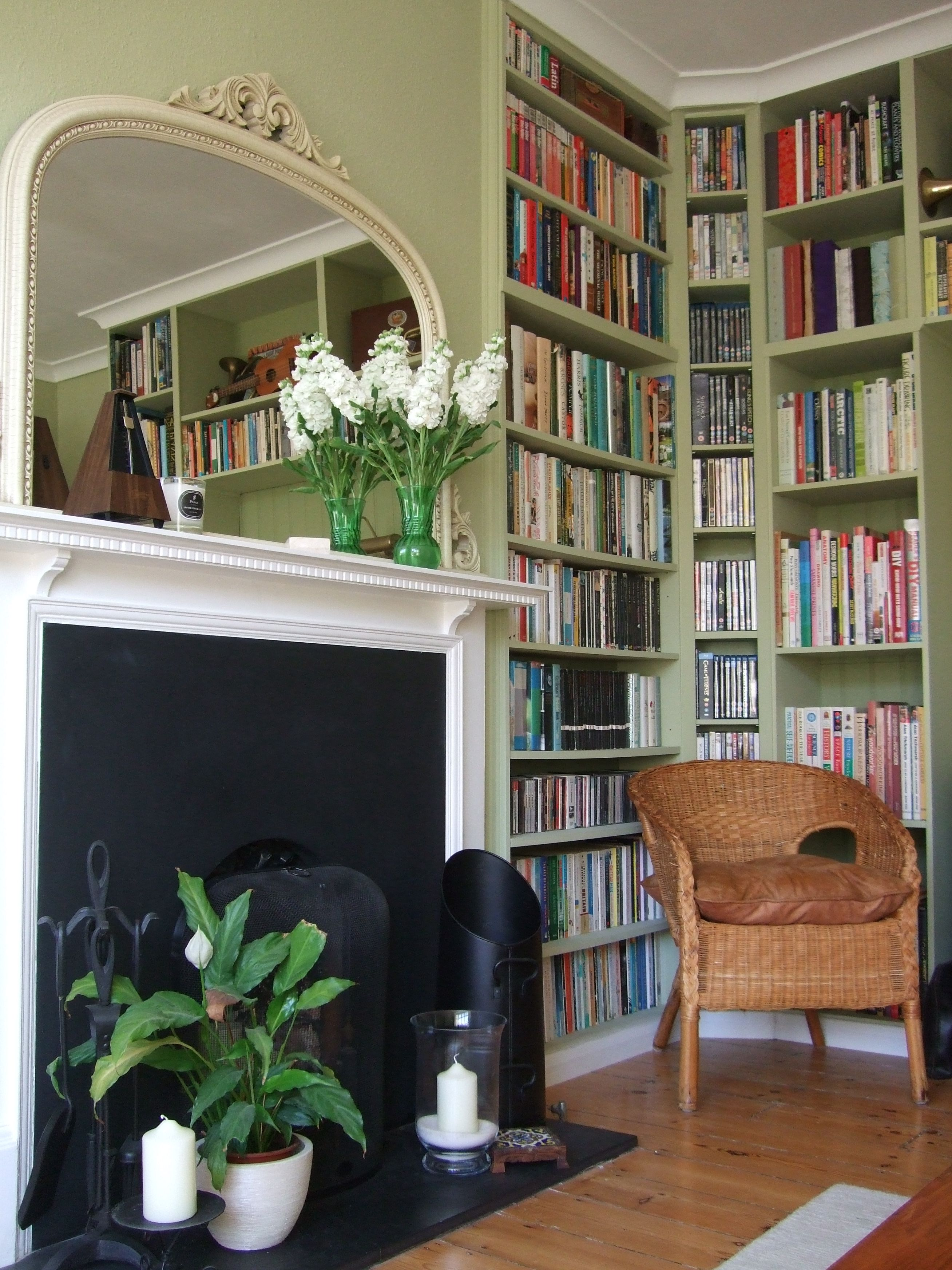 Diy Fitted Bookshelves In Our Lounge Using Maine Modular Shelf