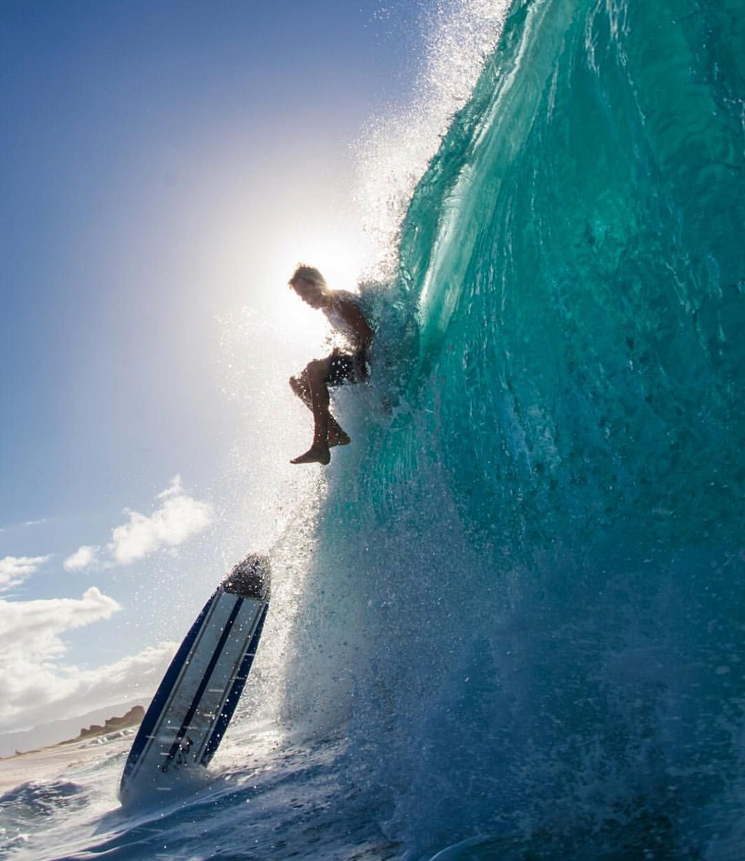 Girls Surfing Wallpaper: Just Chillin, No Biggie // Surfing, Wave, Barrell, Tube