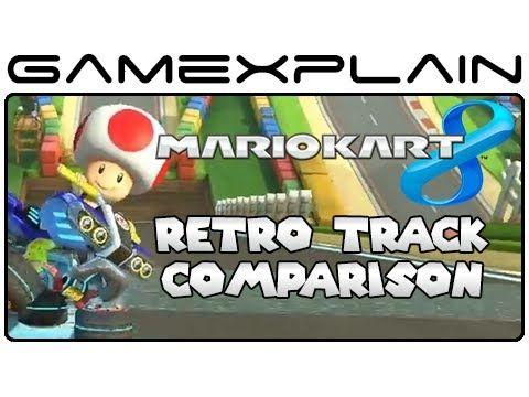 mario kart 8 retro tracks