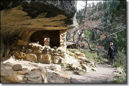 Walnut Canyon National Monument Arizona Arizona Hiking