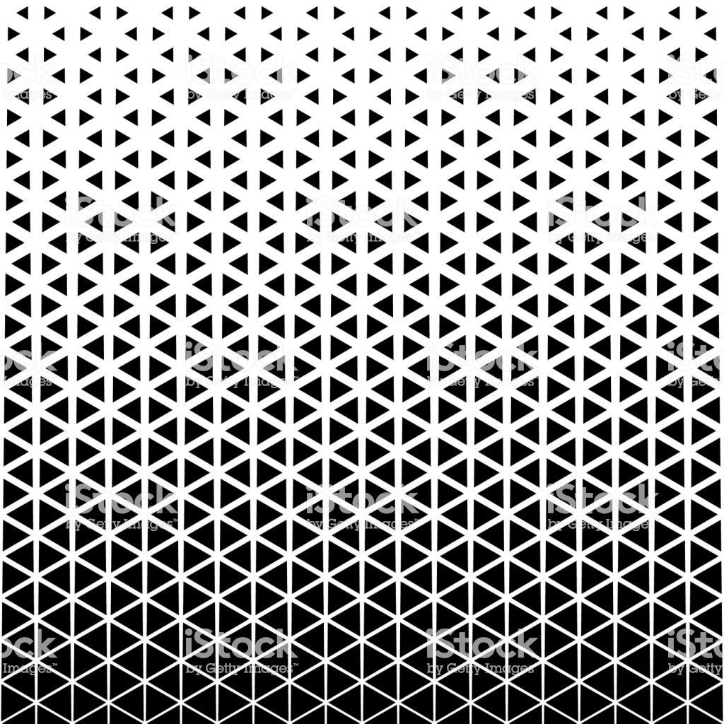Abstract Geometric Black And White Graphic Design Print Halftone Halftone Triangle Pattern Royalt In 2020 Graphic Design Print Geometric Tattoo Design Halftone