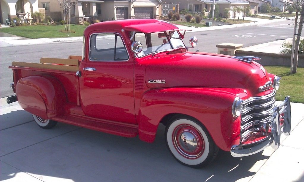 1952 chevy 5 window truck it has a 235 straight 6 under for 1952 chevy pickup 5 window