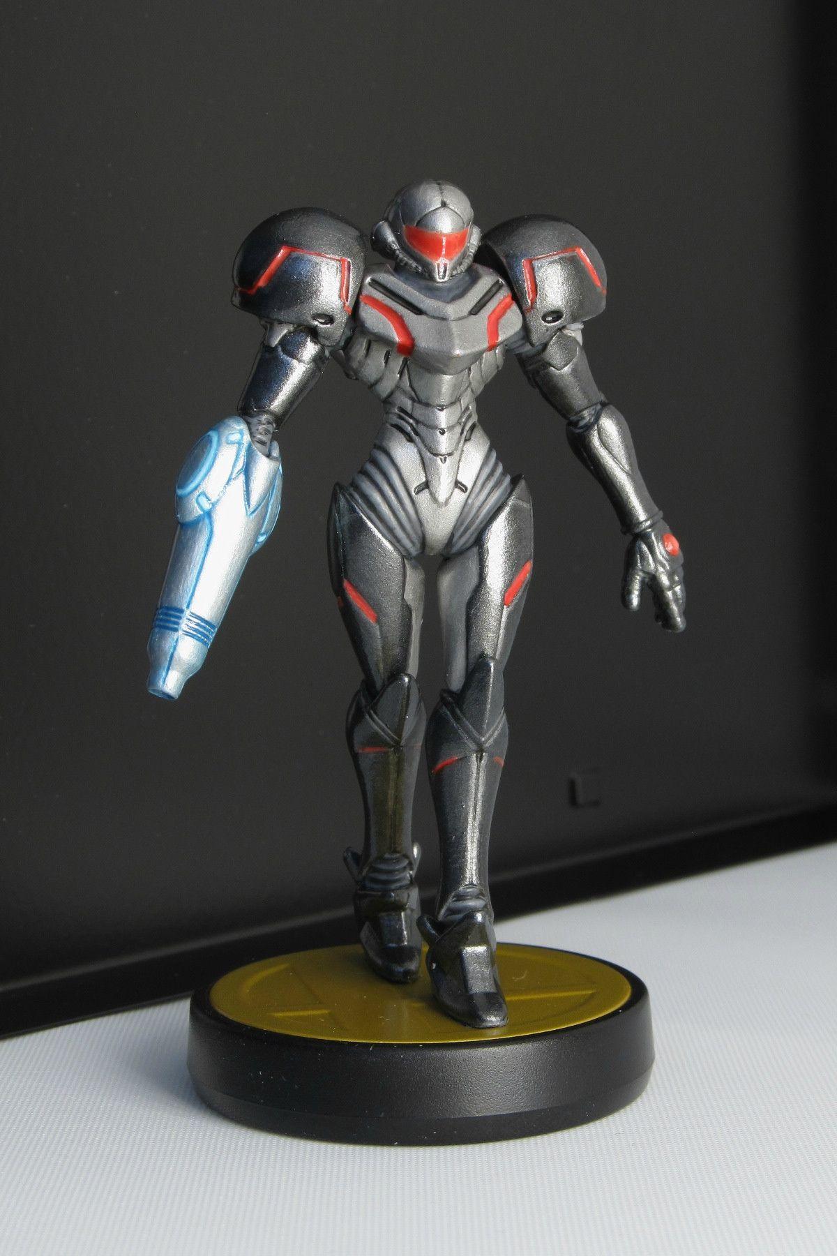 Phazon Suit Samus Amiibo Metroid, Super metroid, Cosplay