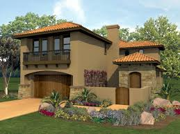 Mediterranean Style House Plan with 4 Bed 3 Bath 2 Car Garage