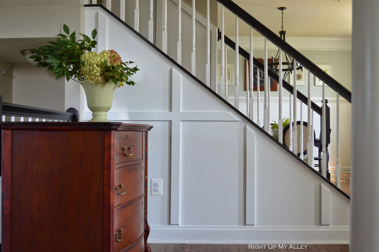 Trimmed out staircase - beautiful!