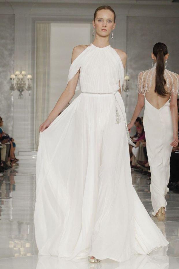 Ralph Lauren Spring/Summer 2014 Grecian inspired dress with inspire ...