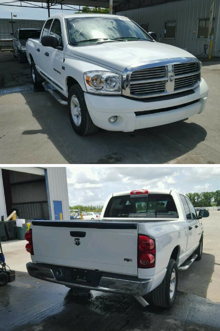 Bid On This Dodge Ram 1500 With Just Minor Dent/scratches