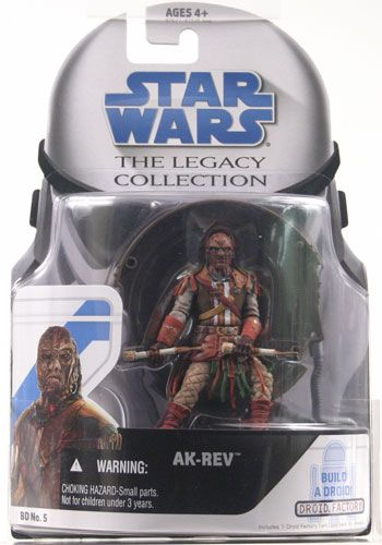 2008 Legacy Collection Carded Ak-Rev