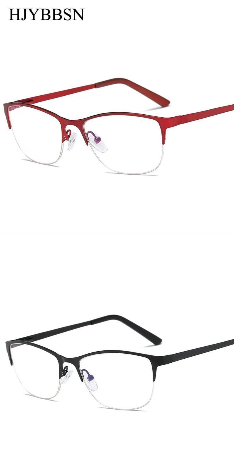 7c3b554ea36 Women metal cat eye glasses frame brand designer fashion men clear lens  eyeglasses eyewear glasses frame for women  copper  women  geometric   eyewear ...