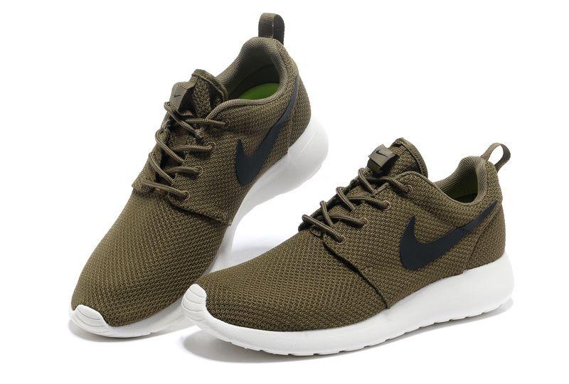 Iguana Black Sail Nike Roshe Run Men's Shoes