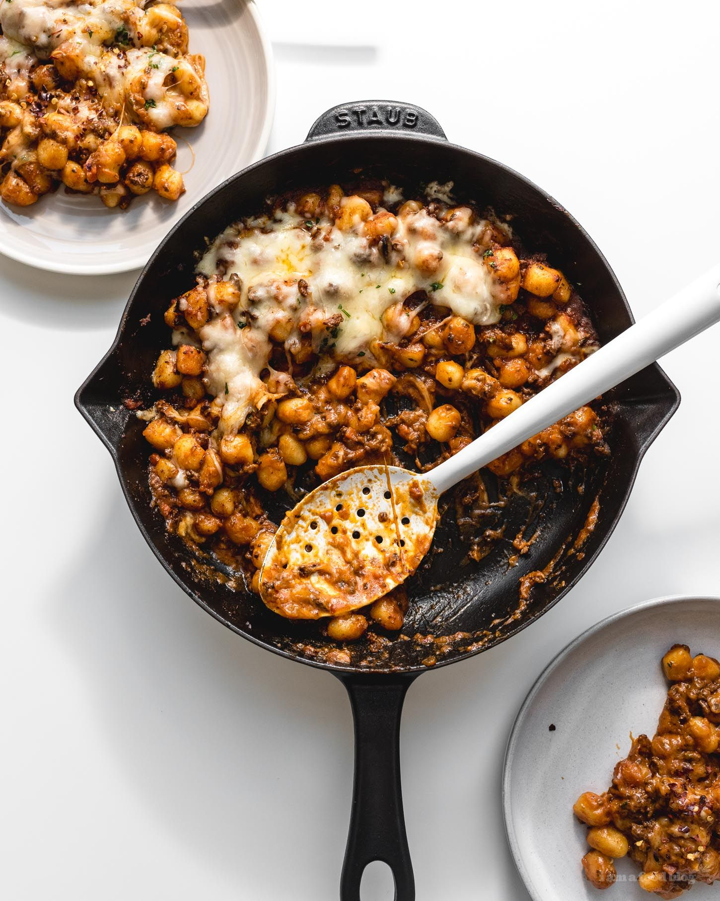 Extra cheesy baked gnocchi bolognese recipe bolognese gnocchi