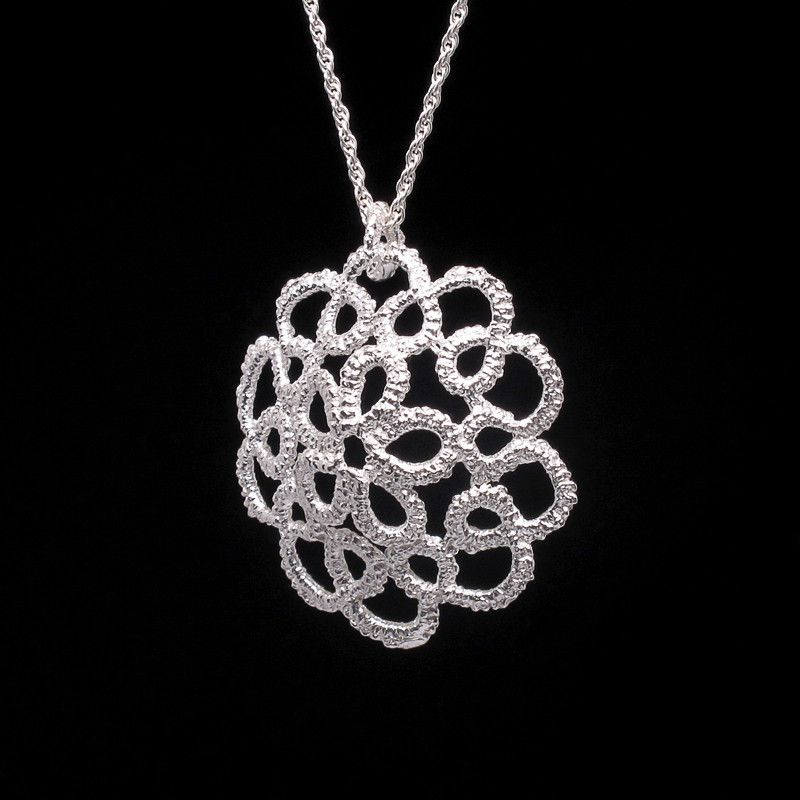 'Cupola' sterling silver necklace