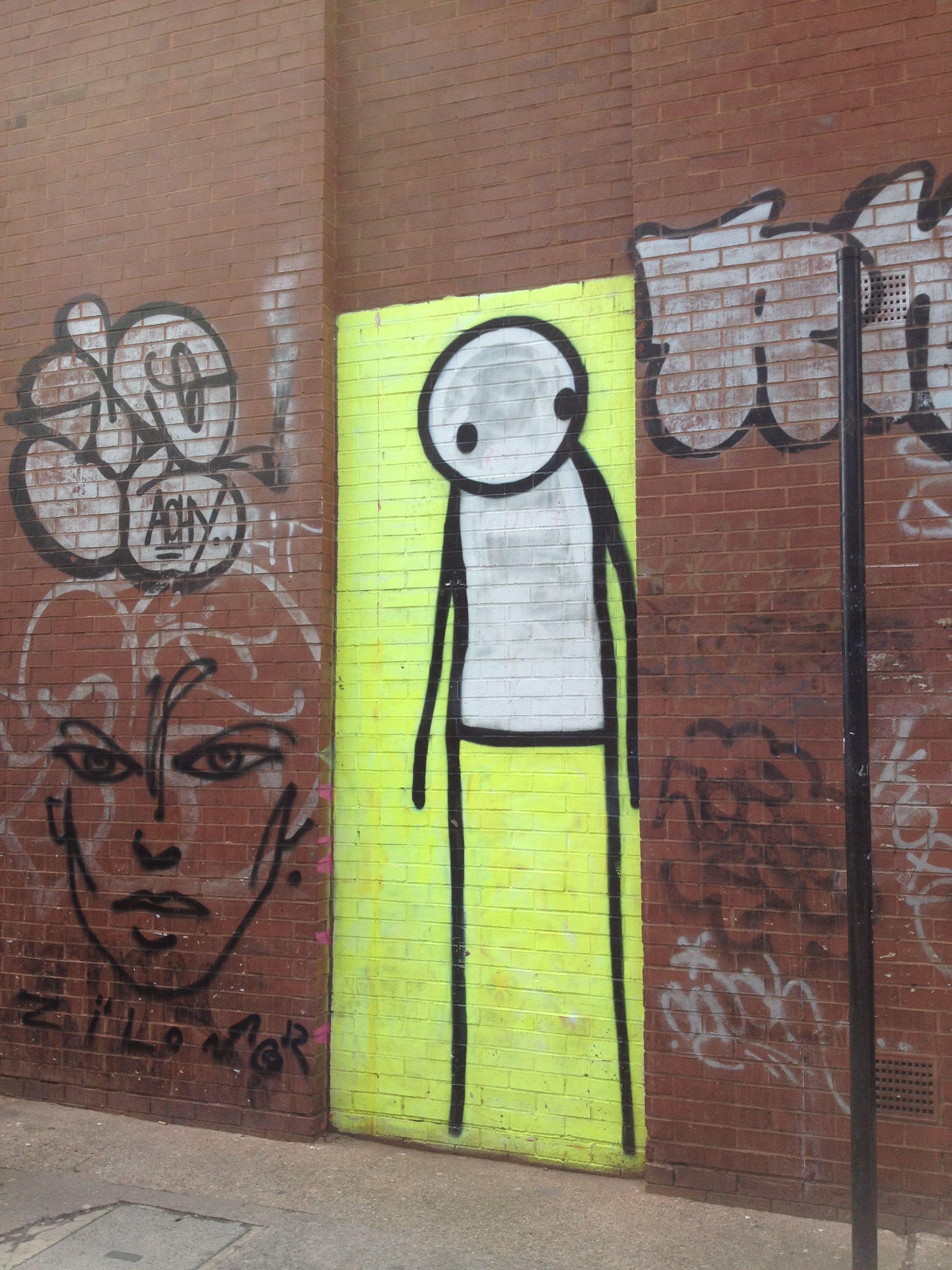 STIK widewallsartiststik street art STIK by