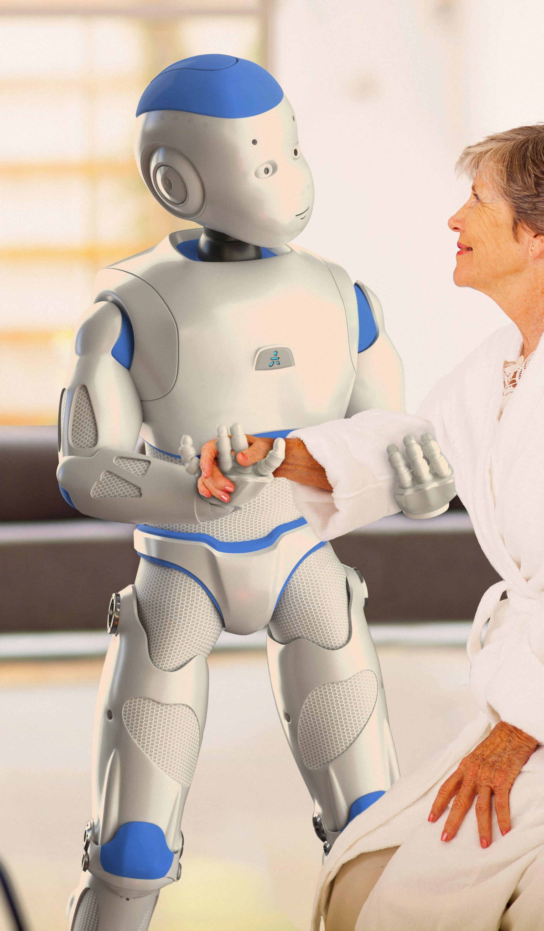 De hulprobot: dat is waar we naar moeten streven.... vind ik....