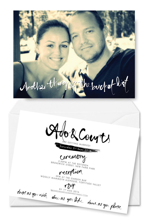 Turn your selfies into wedding invitations wedding weddings and