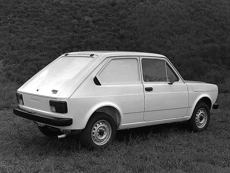 Fiat 147 Furgao 1977 1981 Fiat Commercial Vehicle Vans